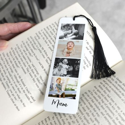 Personalised Aluminium Metal Photo Booth Bookmark